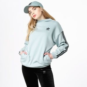 Adidas Brklyn heights trefoil high neck sweater XS